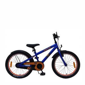 NERF Kinderfiets - Jongens - 20 inch - Satin Blue kinderfiets 20 inch Satijn Blauw