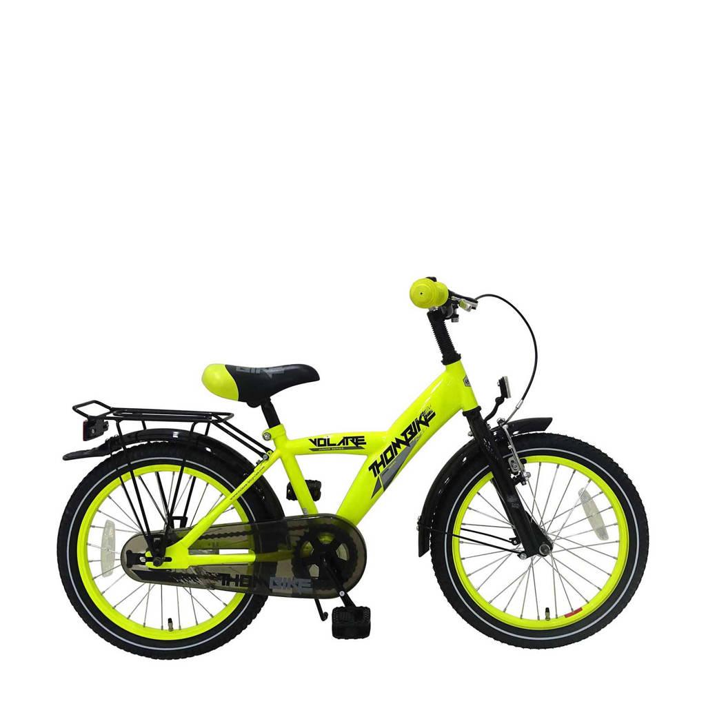 Volare Thombike kinderfiets 18 inch Neon Geel, Neon geel