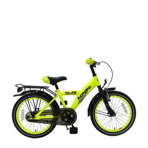 Thombike kinderfiets 18 inch Neon Geel kinderfiets 18 inch