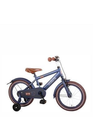 Urban City kinderfiets 16 inch Mat Blauw