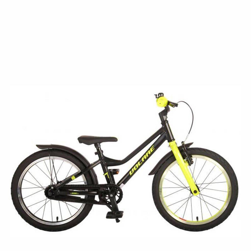 Volare Blaster kinderfiets 18 inch Zwart/ Geel, Zwart/ geel