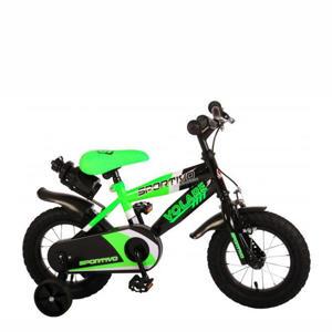 Sportivo kinderfiets 12 inch Groen/ zwart