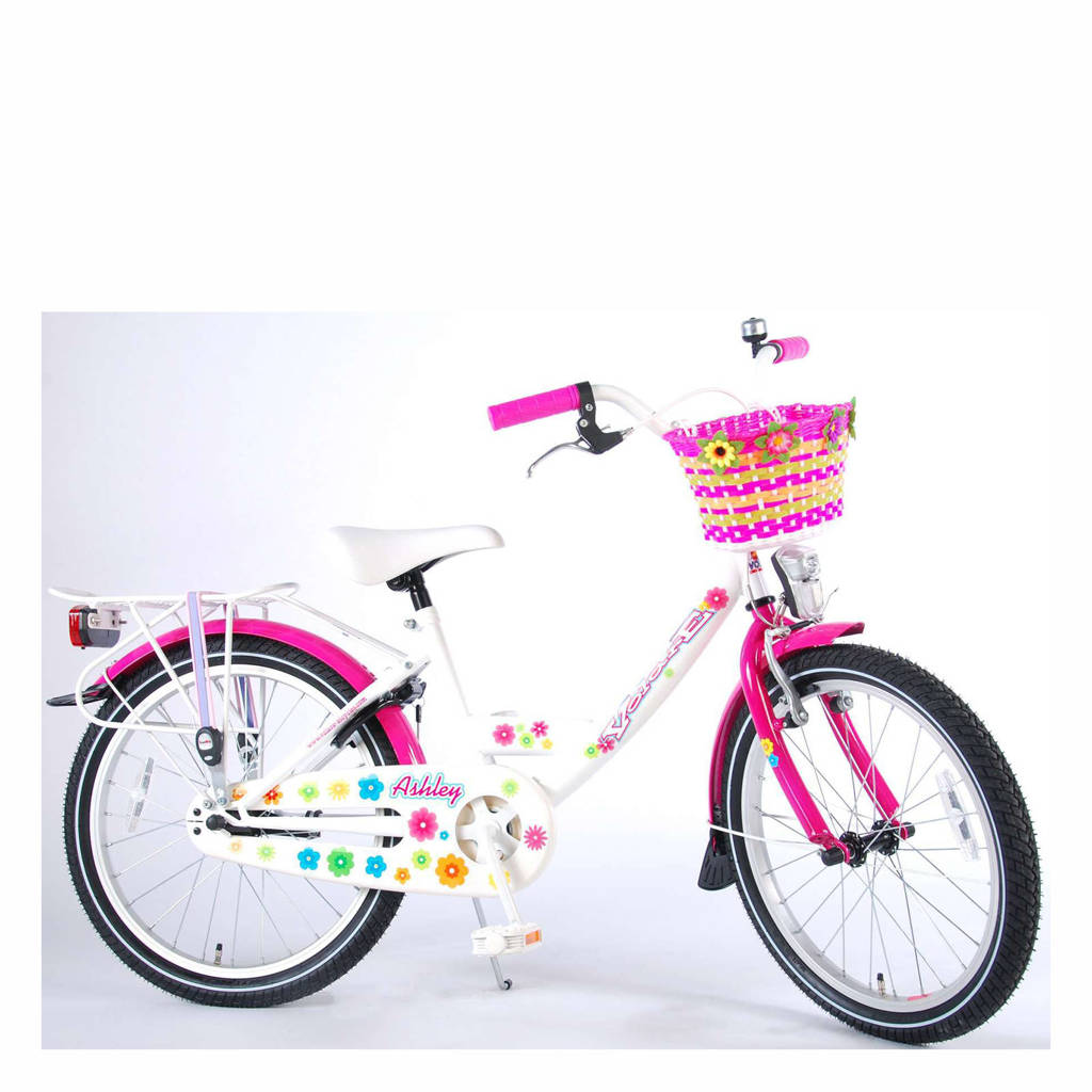 Volare Ashley kinderfiets 20 inch Wit