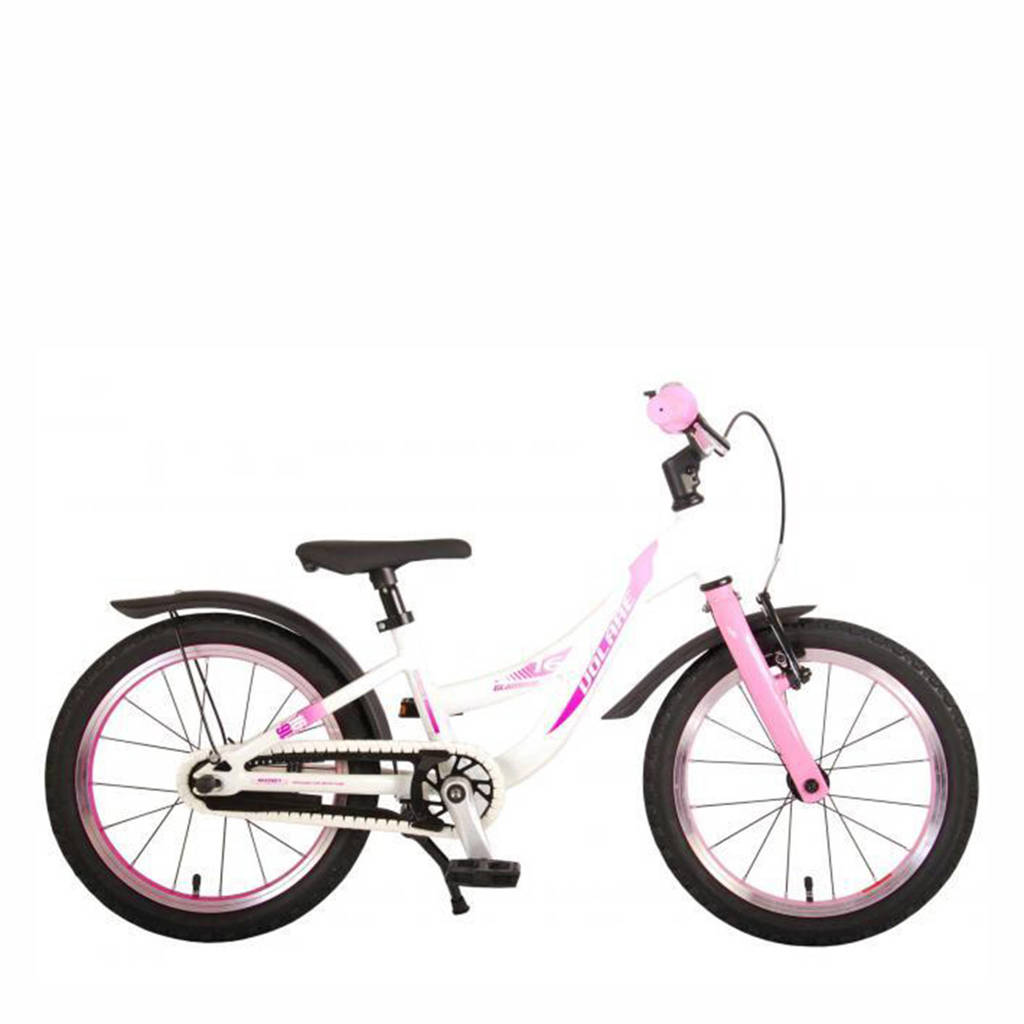 Volare Glamour kinderfiets 16 inch Parelmoer Roze