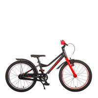 Volare Blaster kinderfiets 18 inch Zwart/ Rood, Zwart/ rood