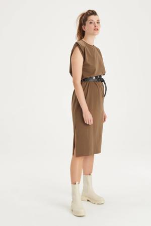 jurk Frankie bruin