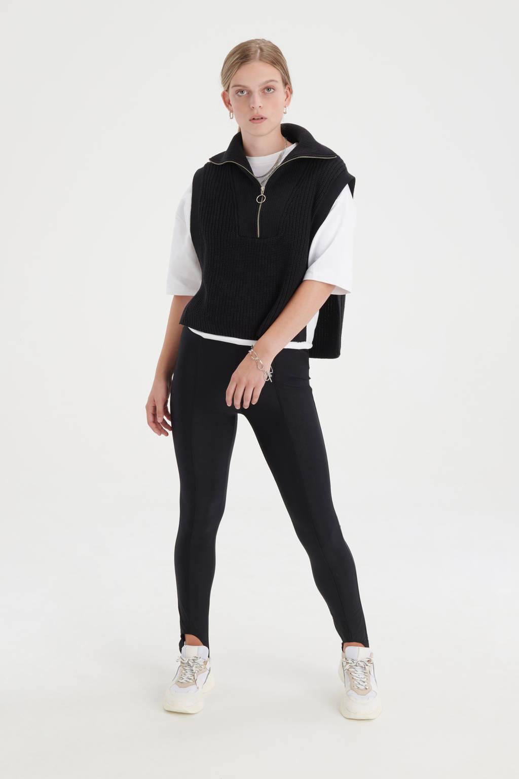 Shoeby Eksept skinny legging Up zwart, Zwart