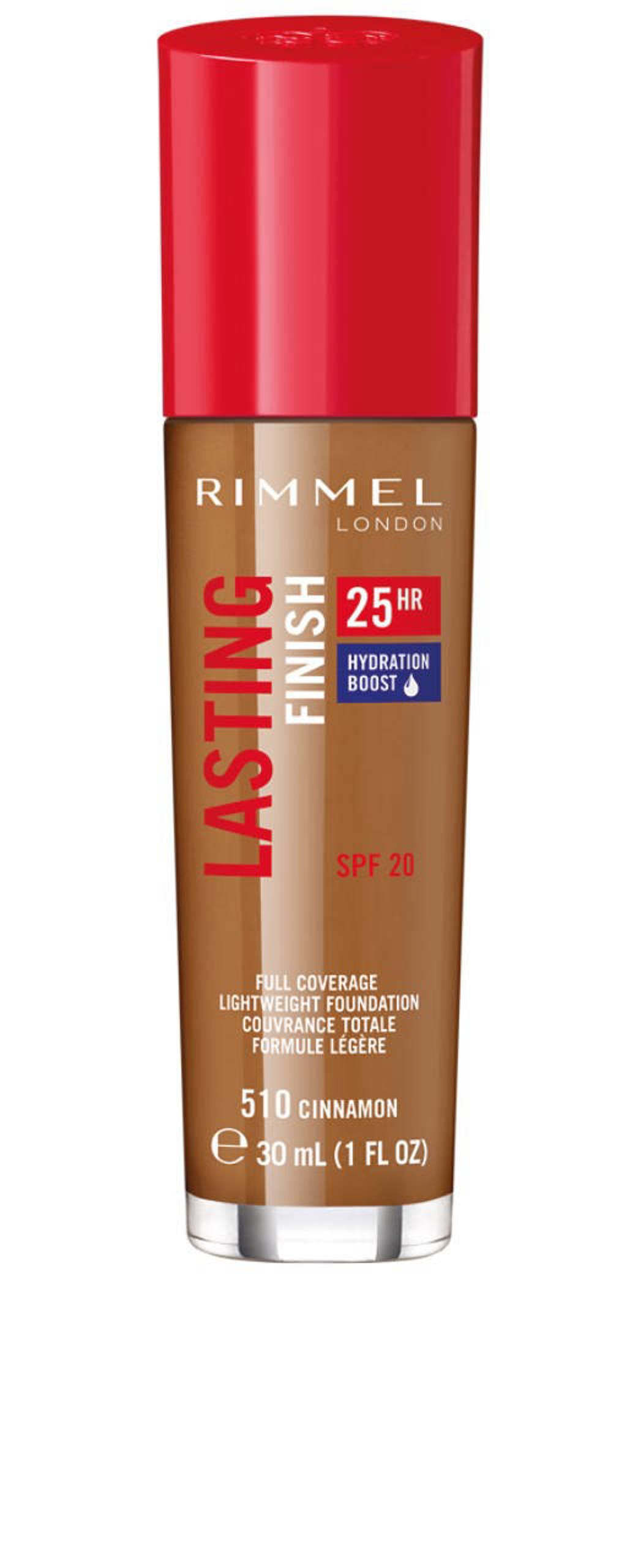 Rimmel London Lasting Finish Foundation - 510 Cinnamon