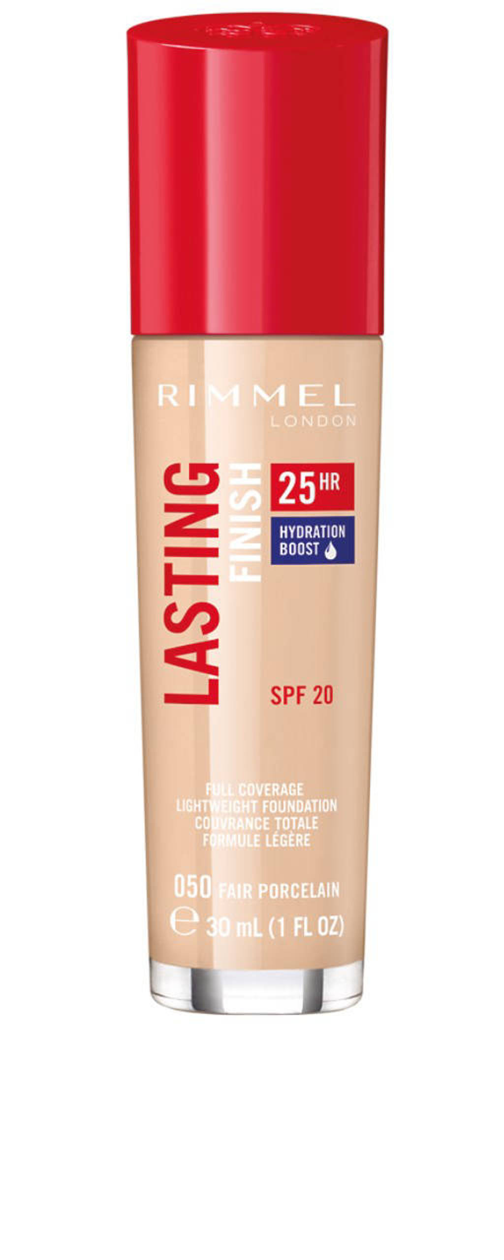 Rimmel London Lasting Finish Foundation - 050 Fair Porcelain