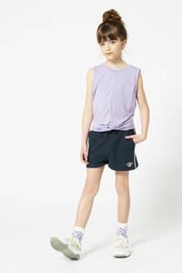 America Today Junior sweatshort Nea van biologisch katoen donkerblauw, Donkerblauw