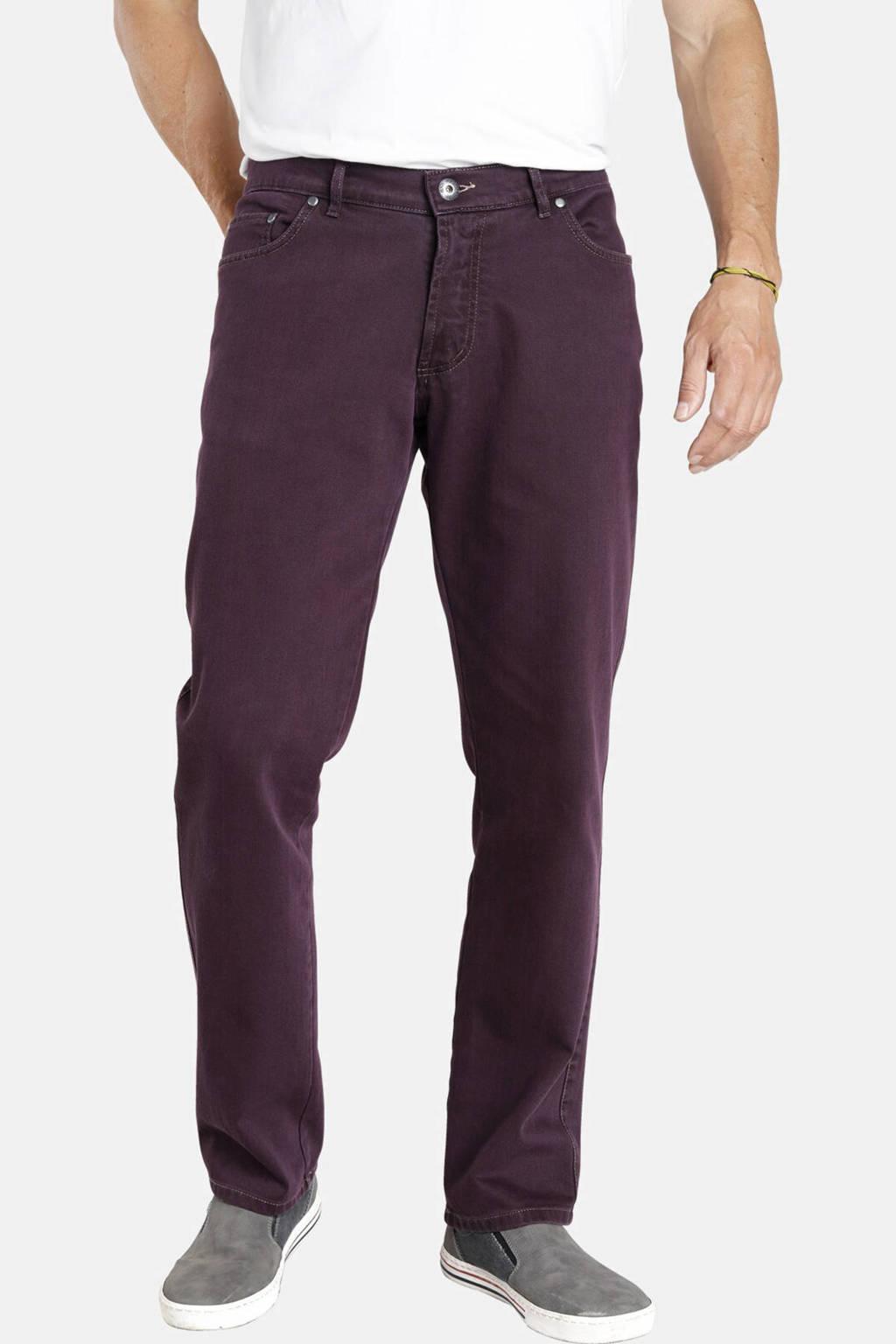Jan Vanderstorm loose fit broek GUNNAR Plus Size lila, Lila
