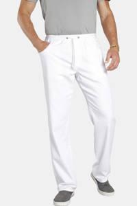 Jan Vanderstorm jeans joggingbroek DAAN Plus Size wit, Wit