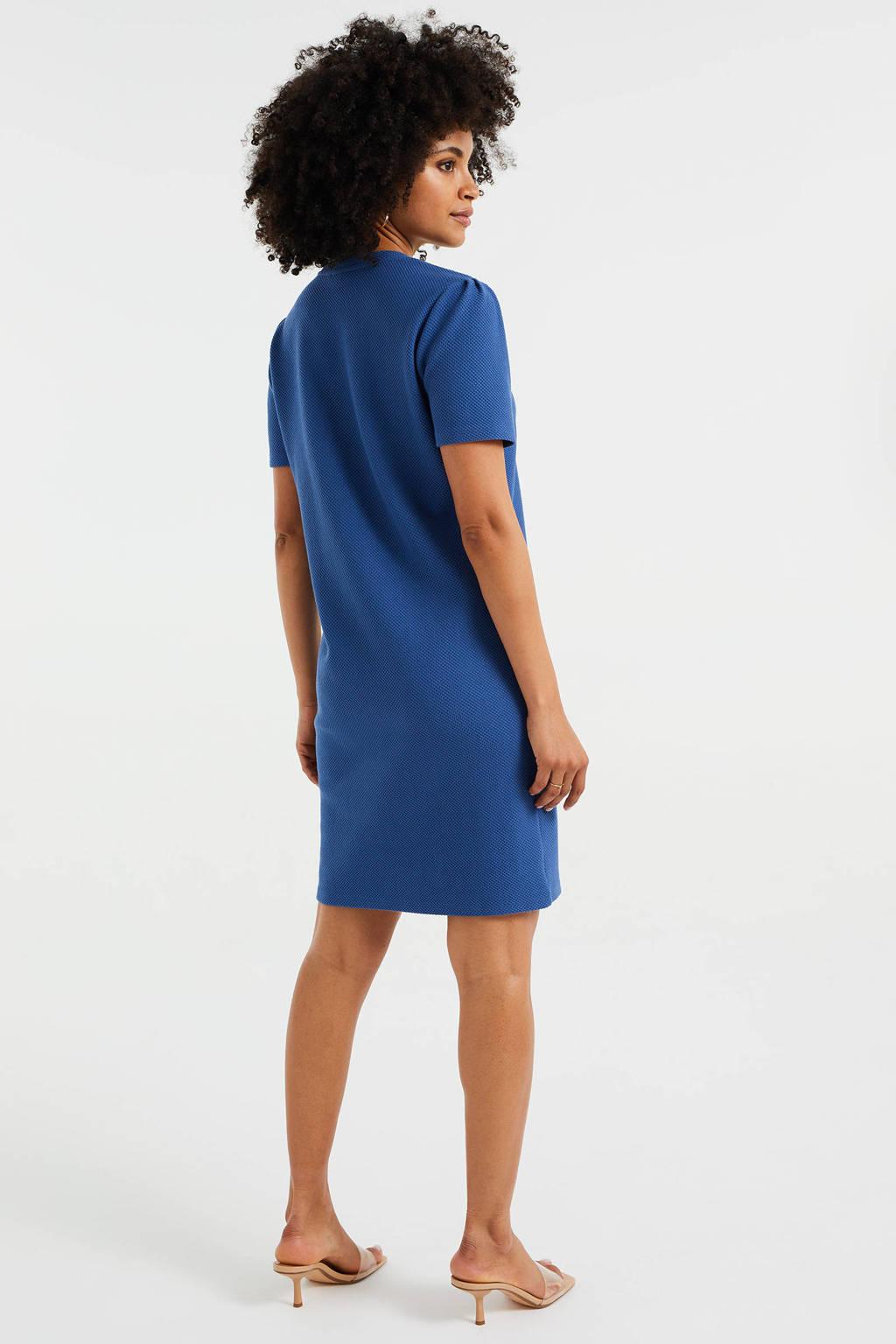 WE Fashion jurk blauw, Blauw