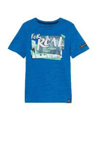 C&A Skate Nation T-shirt met printopdruk blauw, Blauw
