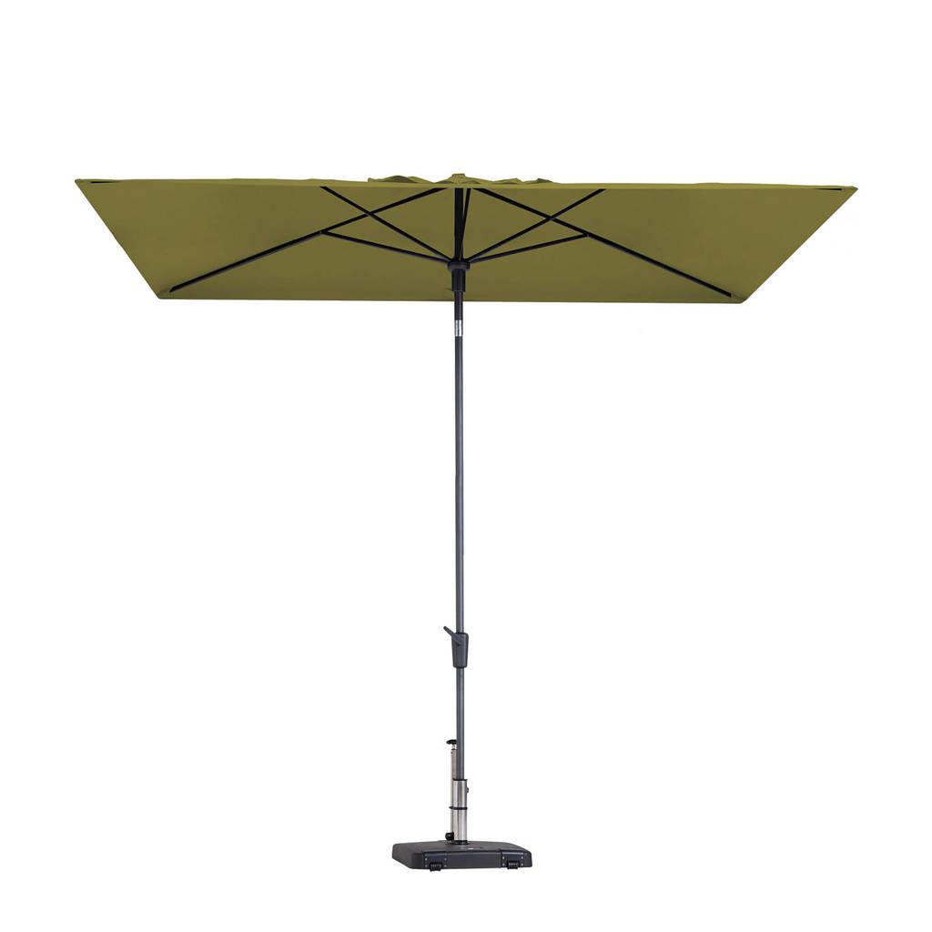 Madison parasol Mikros (200x300 cm), Groen
