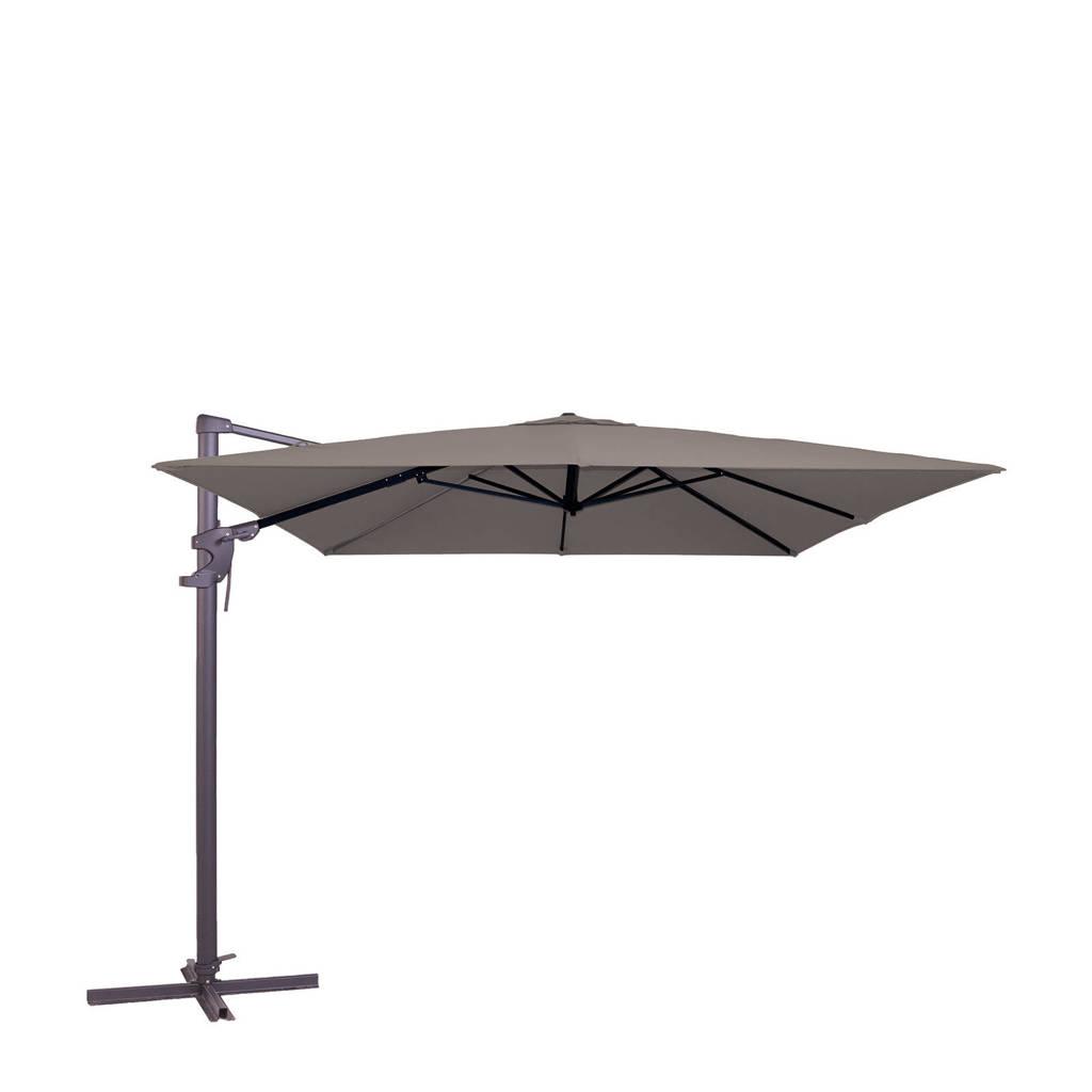 Madison parasol Monaco Flex ll (300x300 cm), Taupe