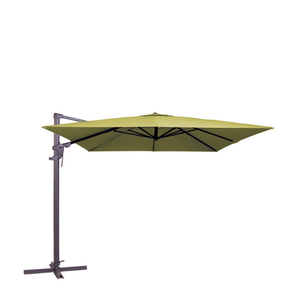 Madison parasol Monaco Flex ll (300x300 cm), Groen
