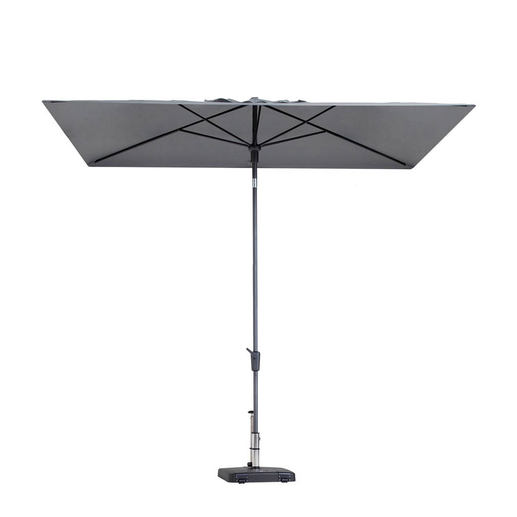 Madison parasol Mikros (200x300 cm), Grijs