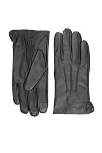 Markberg leren handschoenen Harvey zwart, Zwart