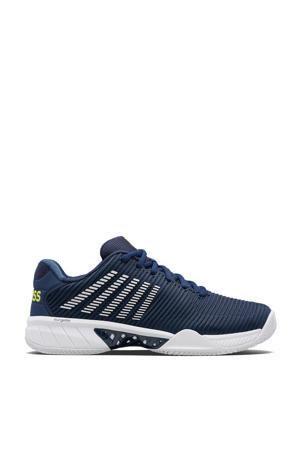 Hypercourt Express 2 hb tennisschoenen donkerblauw/wit/geel