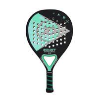 Dunlop   padel racket Boost Control 2.0 zwart/aqua, Zwart/aqua