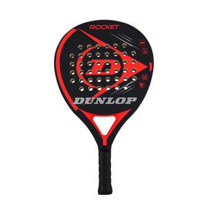padel racket Rocket Red (no headcover) zwart/rood