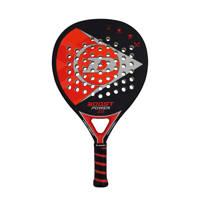 Dunlop   padel racket Boost Power 2.0 zwart/rood, Zwart/rood