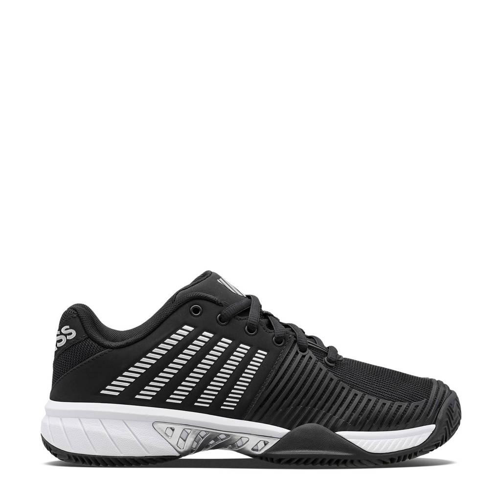 K-Swiss Express Light 2 hb tennisschoenen zwart/wit/zilver, Zwart/wit/zilver