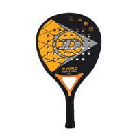 Dunlop   padel racket Rapid Control 2.0 zwart/oranje, Zwart/oranje