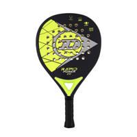 Dunlop   padel racket Rapid Power 2.0 zwart/geel, Zwart/geel