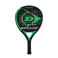 Dunlop   padel racket Rocket Green (no headcover) zwart/groen, Zwart/groen