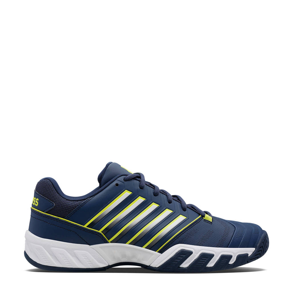 K-Swiss Bigshot Light 4 tennisschoenen blauw/geel, Blauw/geel