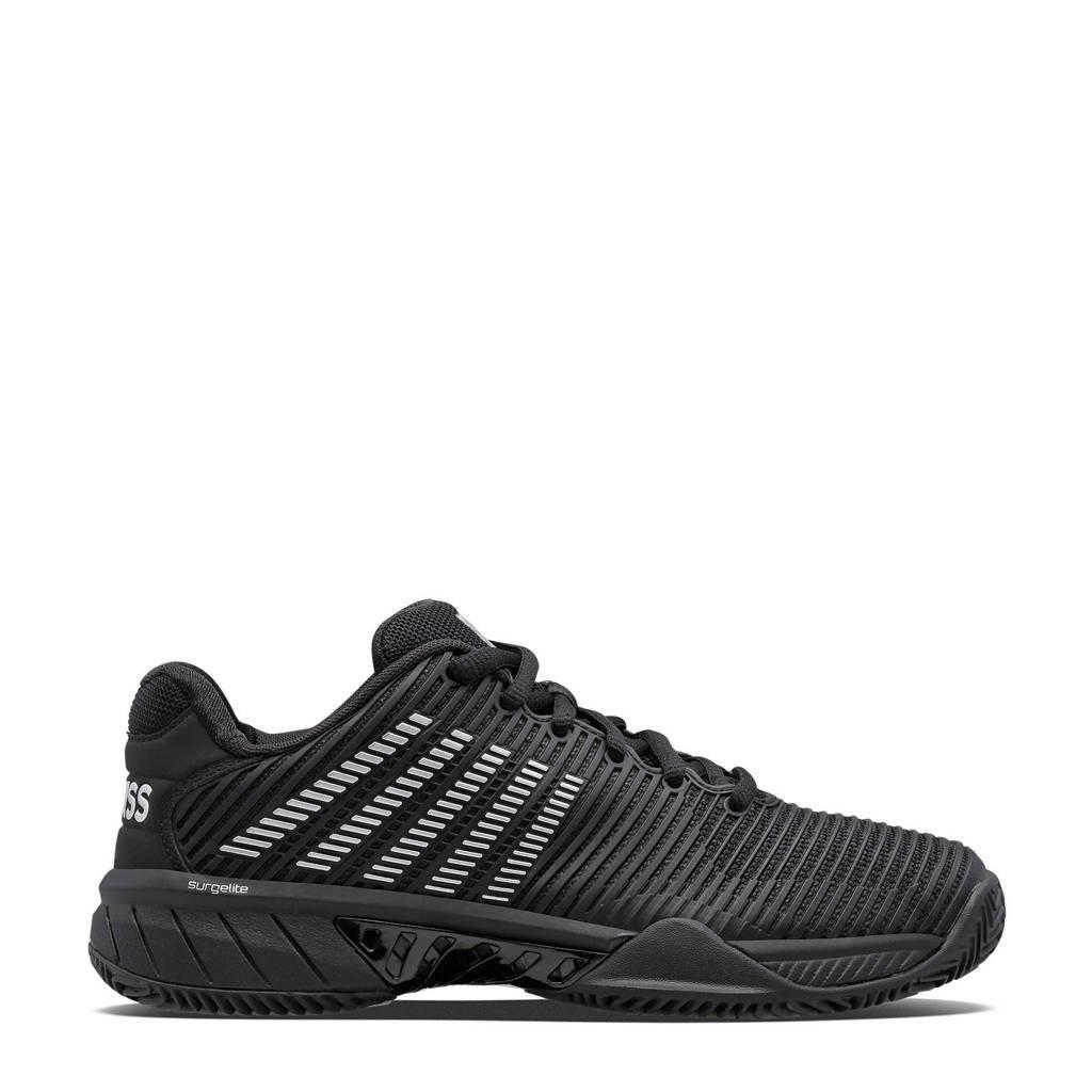 K-Swiss Hypercourt Express 2 hb tennisschoenen zwart/zilver, Zwart/zilver