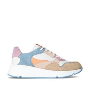 suède dad sneakers beige/multi