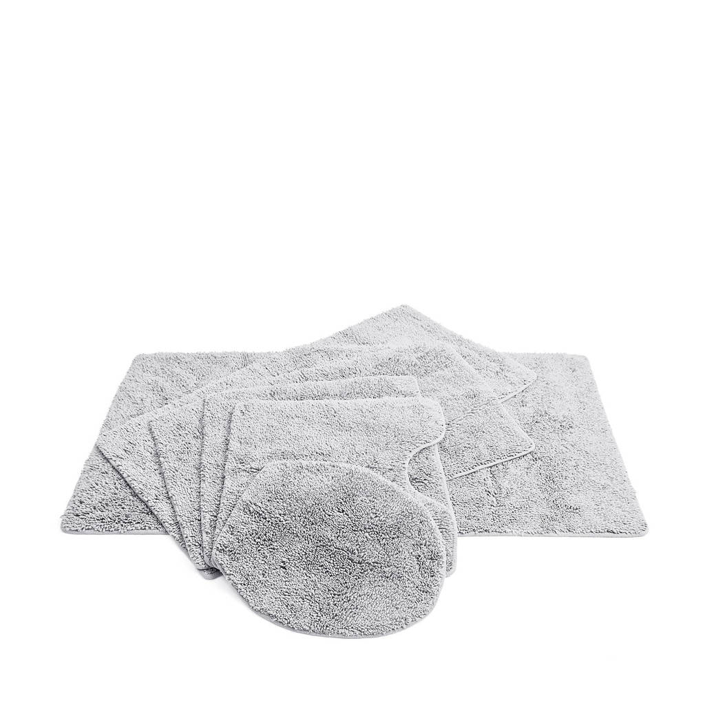 Vandyck badmat  (per stuk) (60x60 cm), Lichtgrijs