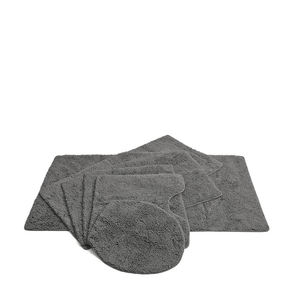 Vandyck badmat  (per stuk) (90x55 cm), Grijs