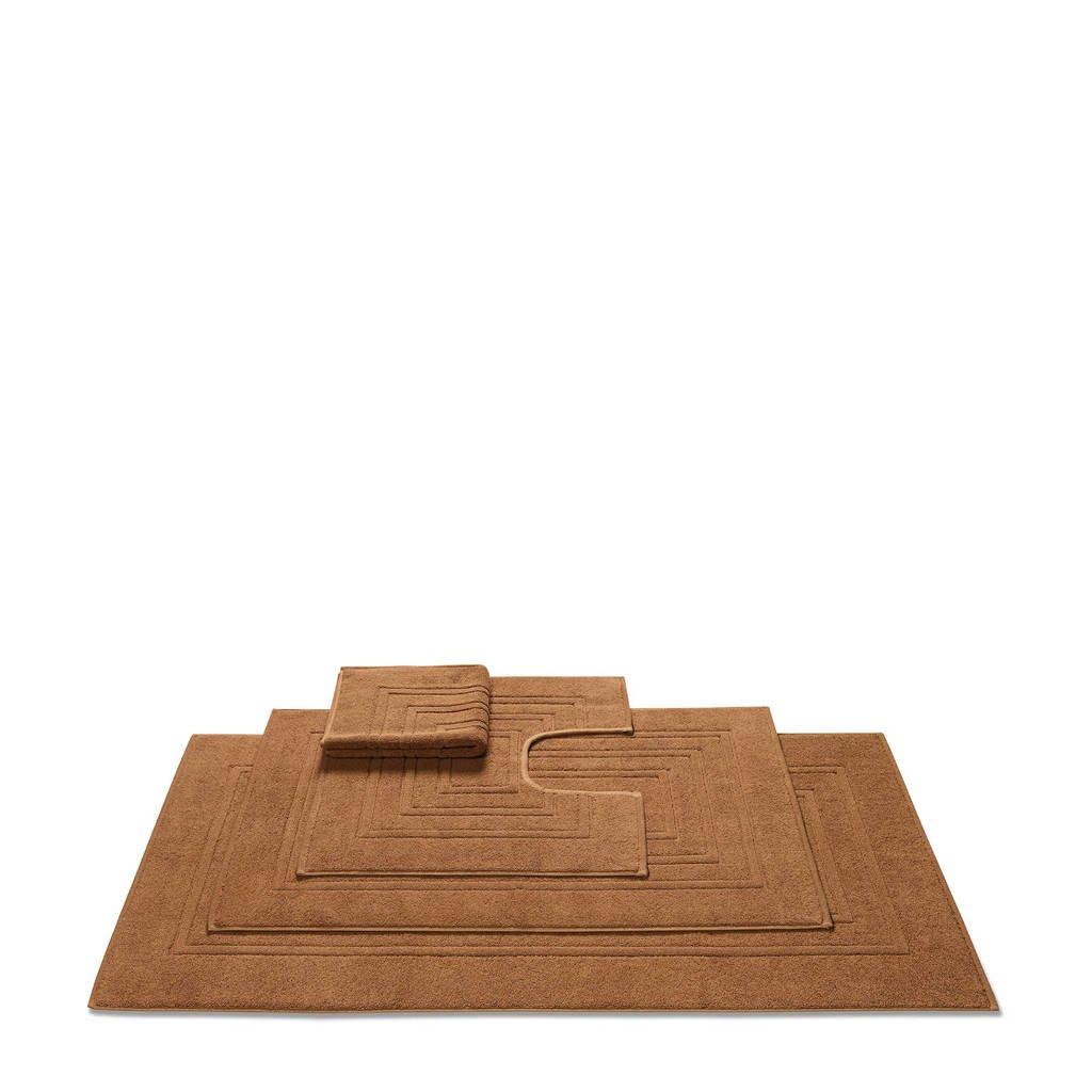 Vandyck badmat  (per stuk) (62x60 cm), Bruin