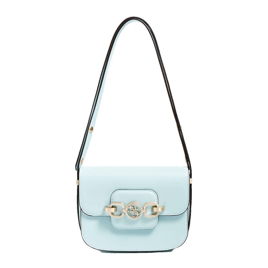 GUESS  crossbody tas Hensely lichtblauw, Lichtblauw