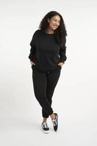 MS Mode sweater zwart, Zwart
