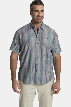 loose fit  oversized overhemd Plus Size multi