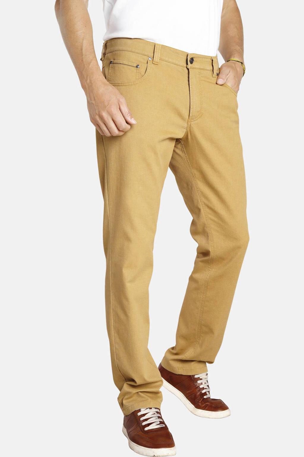 Jan Vanderstorm loose fit broek VILHELM Plus Size geel, Geel