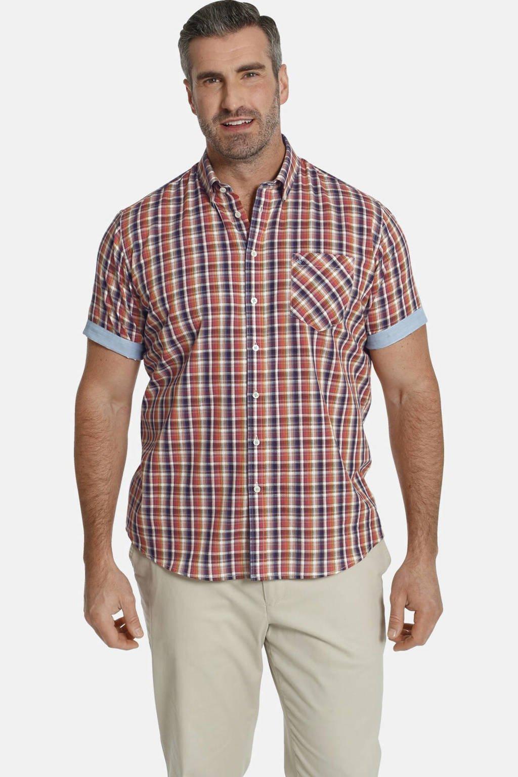 Charles Colby overhemd (set van 2) DUKE VILLOD Plus Size lichtblauw/rood, Lichtblauw/rood