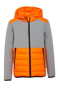 s.Oliver  tussenjas oranje/grijs, Oranje/grijs