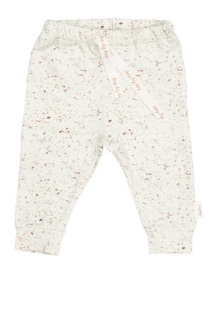 easy fit baby broek Moonsand all over pint oat