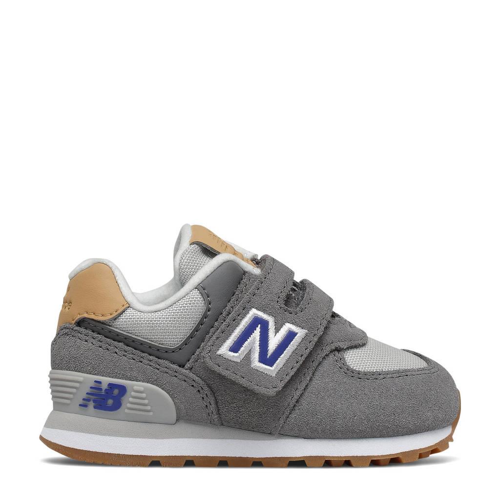 New Balance 574  sneakers grijs/blauw/bruin, Grijs/blauw/bruin