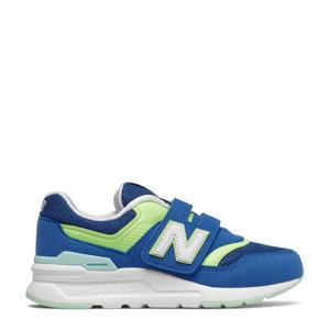 997  sneakers kobaltblauw/geel