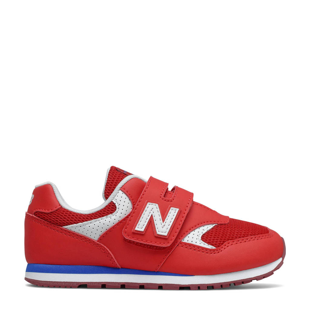 New Balance 393  sneakers rood/wit/blauw, Rood/wit/blauw