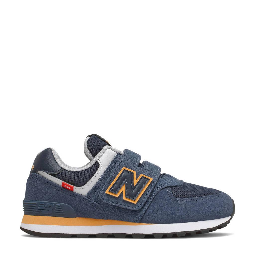 New Balance 574  sneakers donkerblauw, Blauw