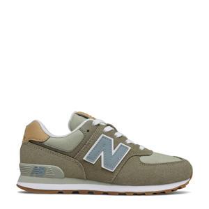574  sneakers kaki/grijs
