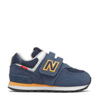 New Balance 574  sneakers rood/lichtgrijs, Donkerblauw